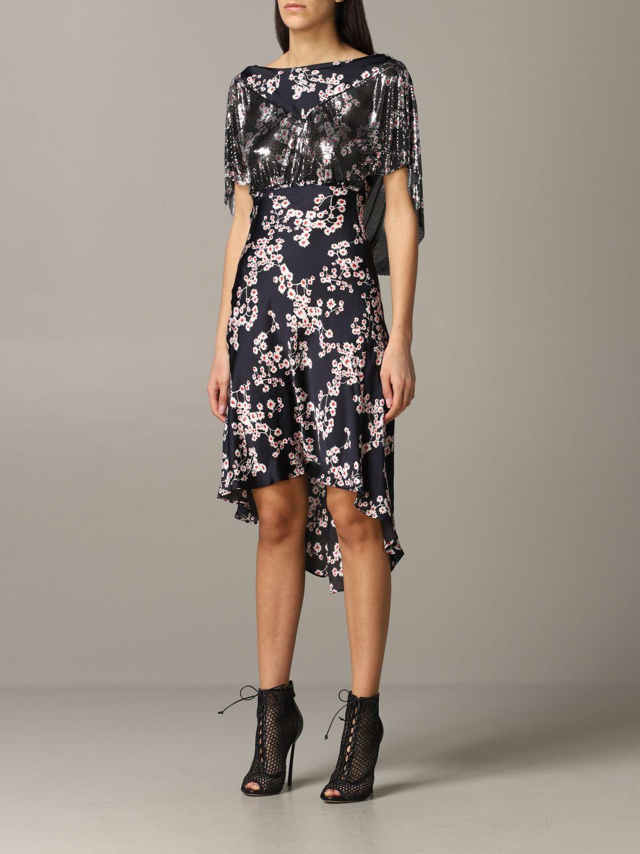Платье Женское Paco Rabanne черный 3