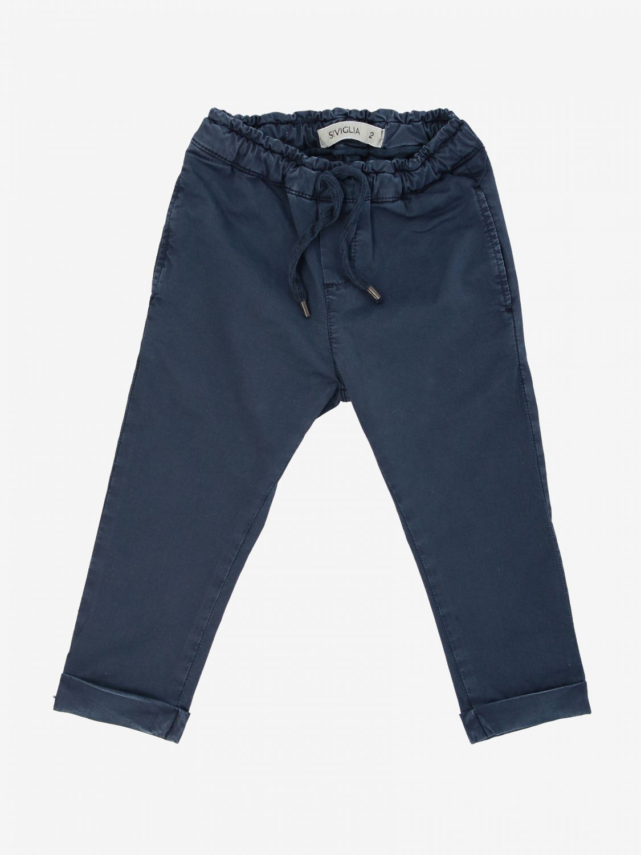 Trousers kids Siviglia blue 1