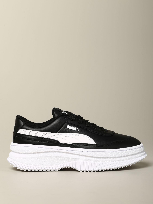 baskets puma noir femme