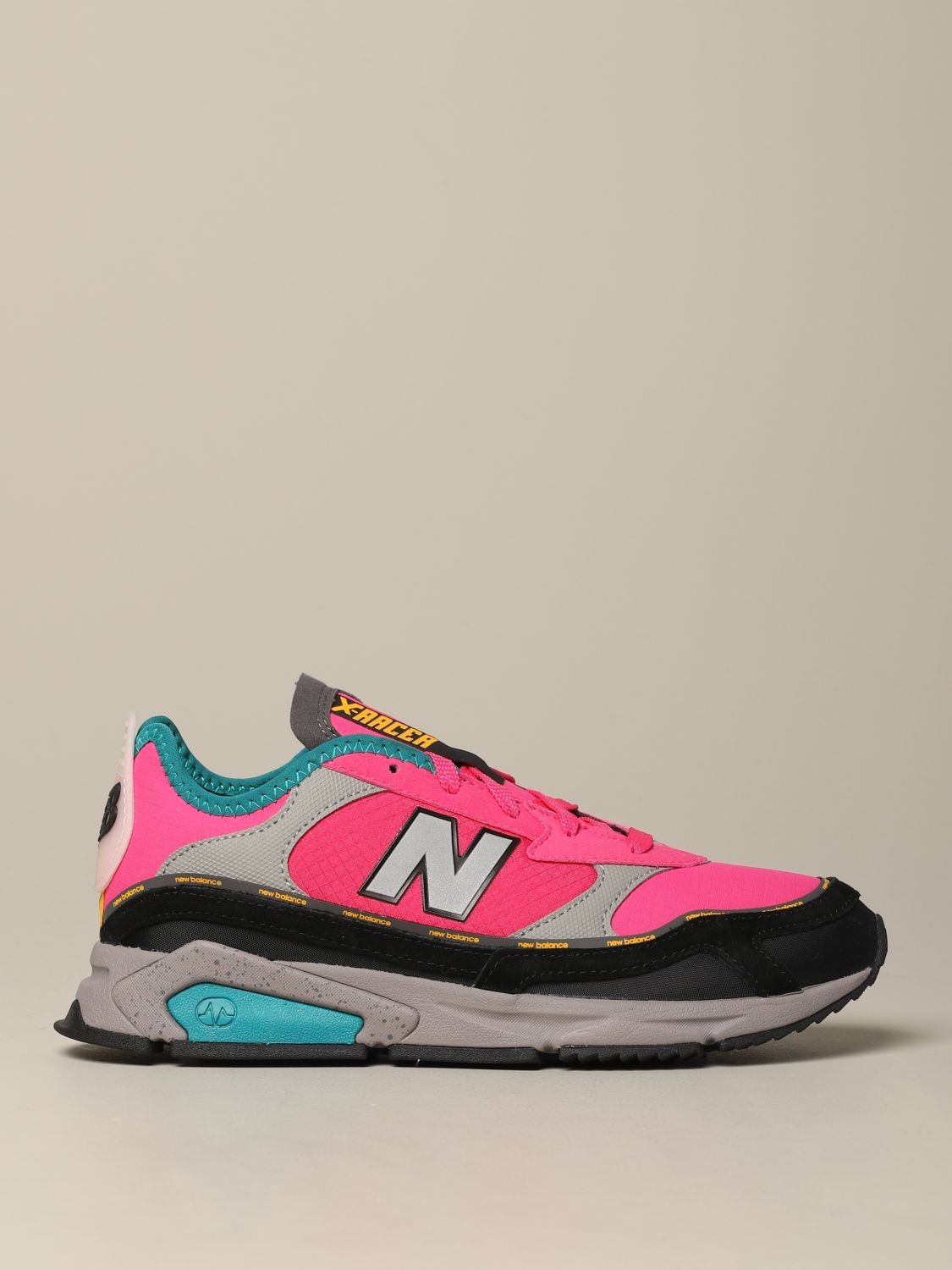 baskets new balance femme rose