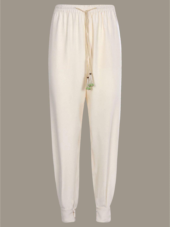 Trousers women Etro beige 1