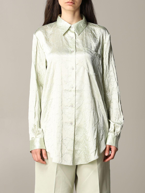 衬衫 Acne Studios: 衬衫 女士 Acne Studios 绿色 1