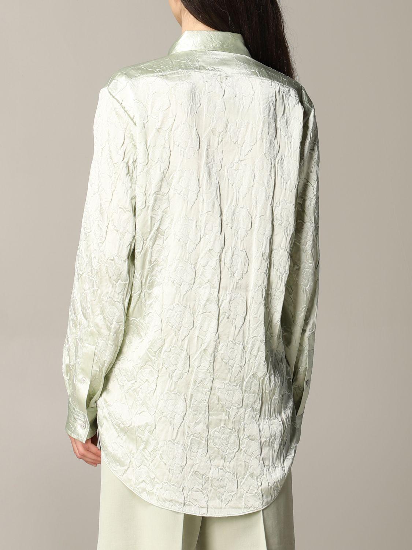 衬衫 Acne Studios: 衬衫 女士 Acne Studios 绿色 3
