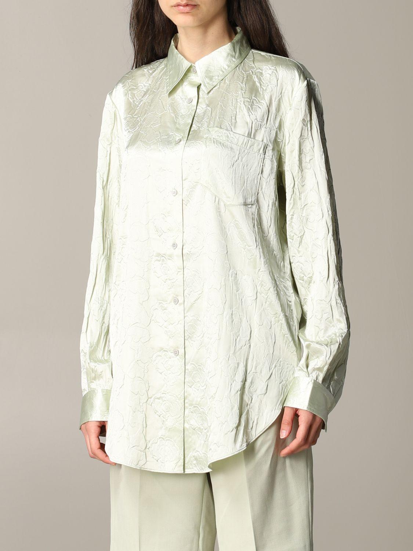 衬衫 Acne Studios: 衬衫 女士 Acne Studios 绿色 4