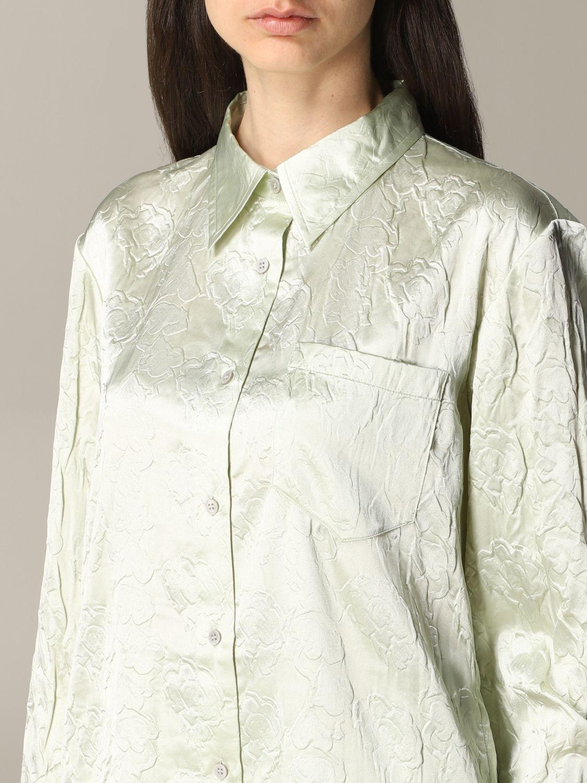 衬衫 Acne Studios: 衬衫 女士 Acne Studios 绿色 5