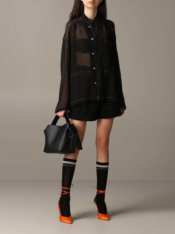 衬衫 Acne Studios: 衬衫 女士 Acne Studios 黑色 2