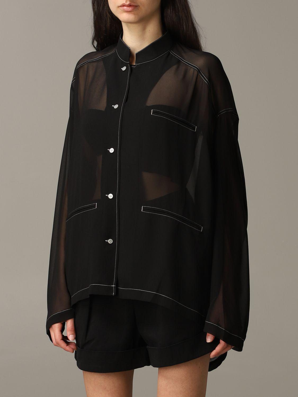 衬衫 Acne Studios: 衬衫 女士 Acne Studios 黑色 3