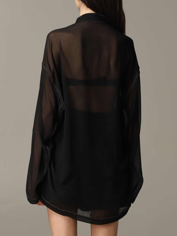 衬衫 Acne Studios: 衬衫 女士 Acne Studios 黑色 4