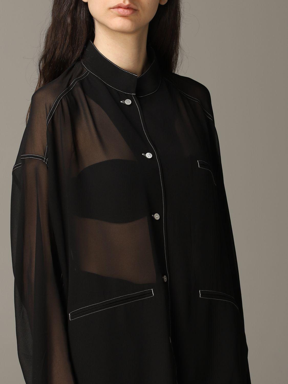 衬衫 Acne Studios: 衬衫 女士 Acne Studios 黑色 5