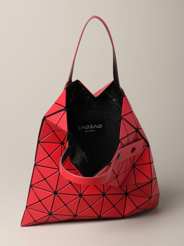 Sac cabas Bao Bao Issey Miyake avec motif géométrique rouge 5