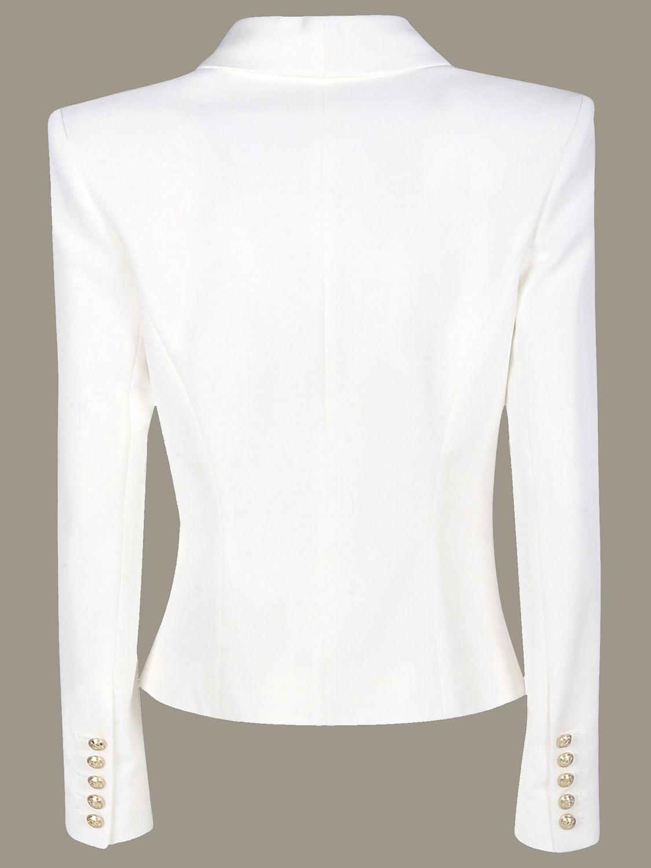 Jacket Balmain: Jacket women Balmain white 3