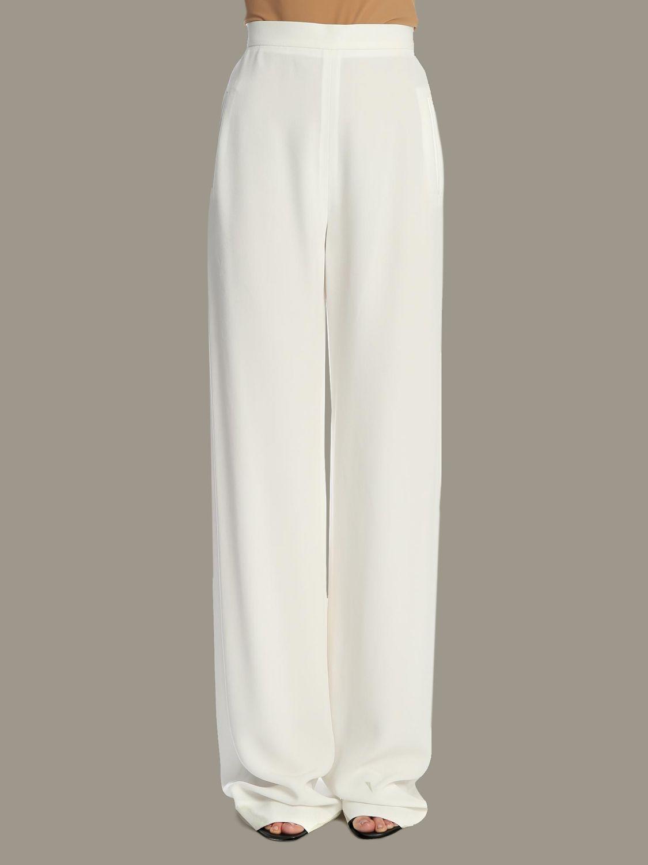 Trousers Balmain: Trousers women Balmain white 1