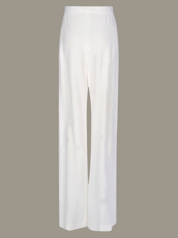 Trousers Balmain: Trousers women Balmain white 3
