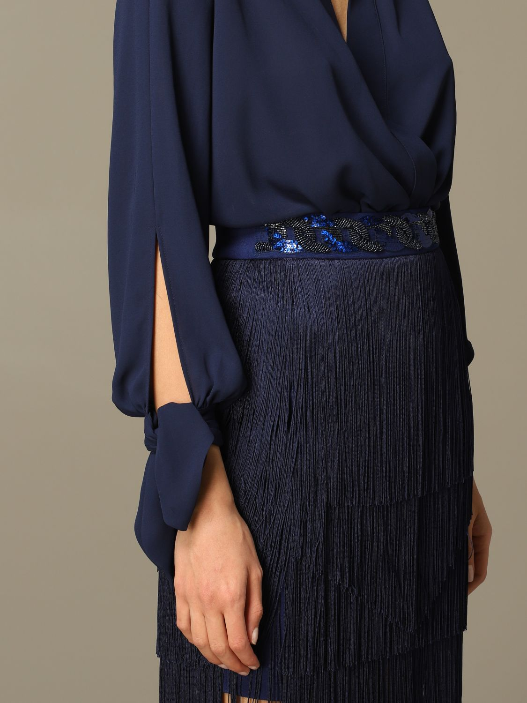 连体衣 Elisabetta Franchi: 连体衣 女士 Elisabetta Franchi 蓝色 4
