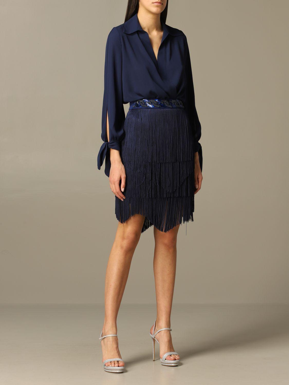 连体衣 Elisabetta Franchi: 连体衣 女士 Elisabetta Franchi 蓝色 5