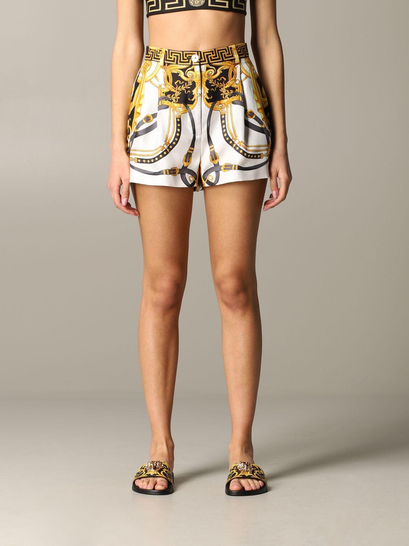 Short women Versace multicolor 1