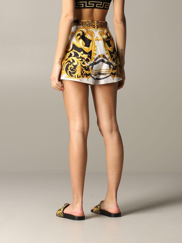 Short women Versace multicolor 3
