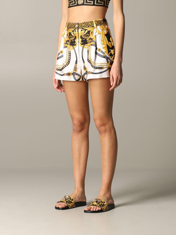 Short women Versace multicolor 4