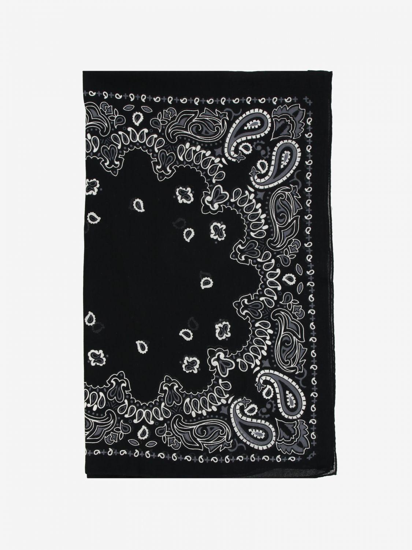 Sciarpa Destin: Sciarpa Destin con stampa bandana nero 1