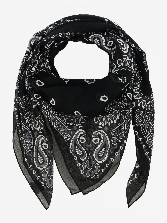 Sciarpa Destin: Sciarpa Destin con stampa bandana nero 2