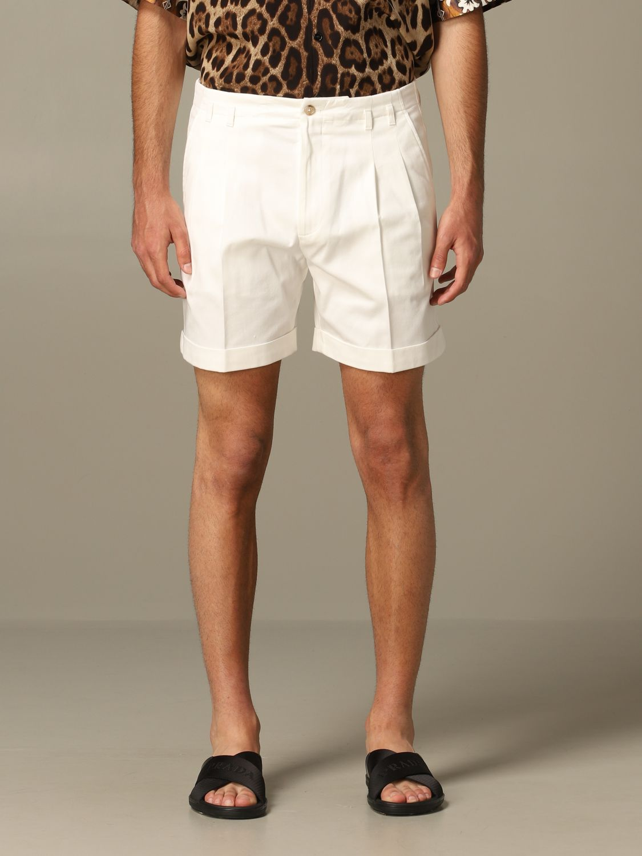 Short Dolce & Gabbana: Bermuda shorts men Dolce & Gabbana white 1