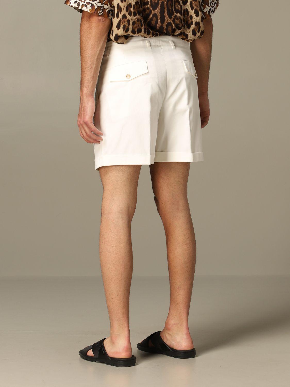 Short Dolce & Gabbana: Bermuda shorts men Dolce & Gabbana white 2