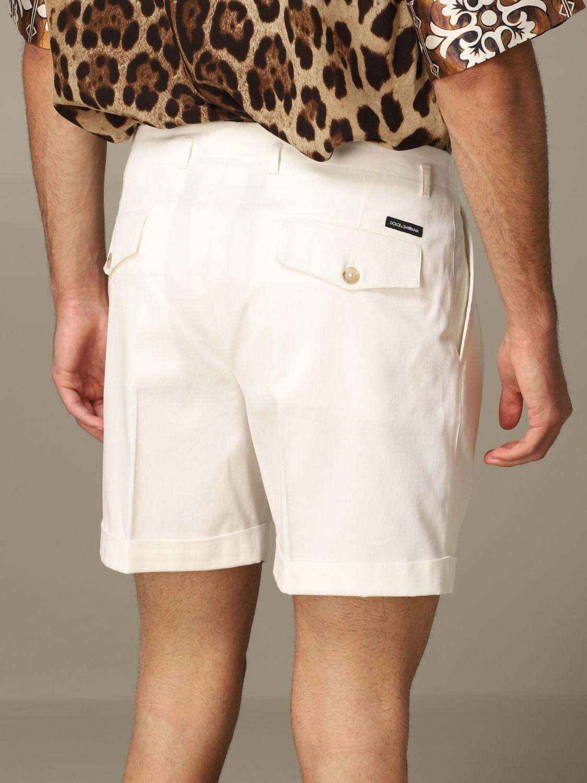 Short Dolce & Gabbana: Bermuda shorts men Dolce & Gabbana white 3
