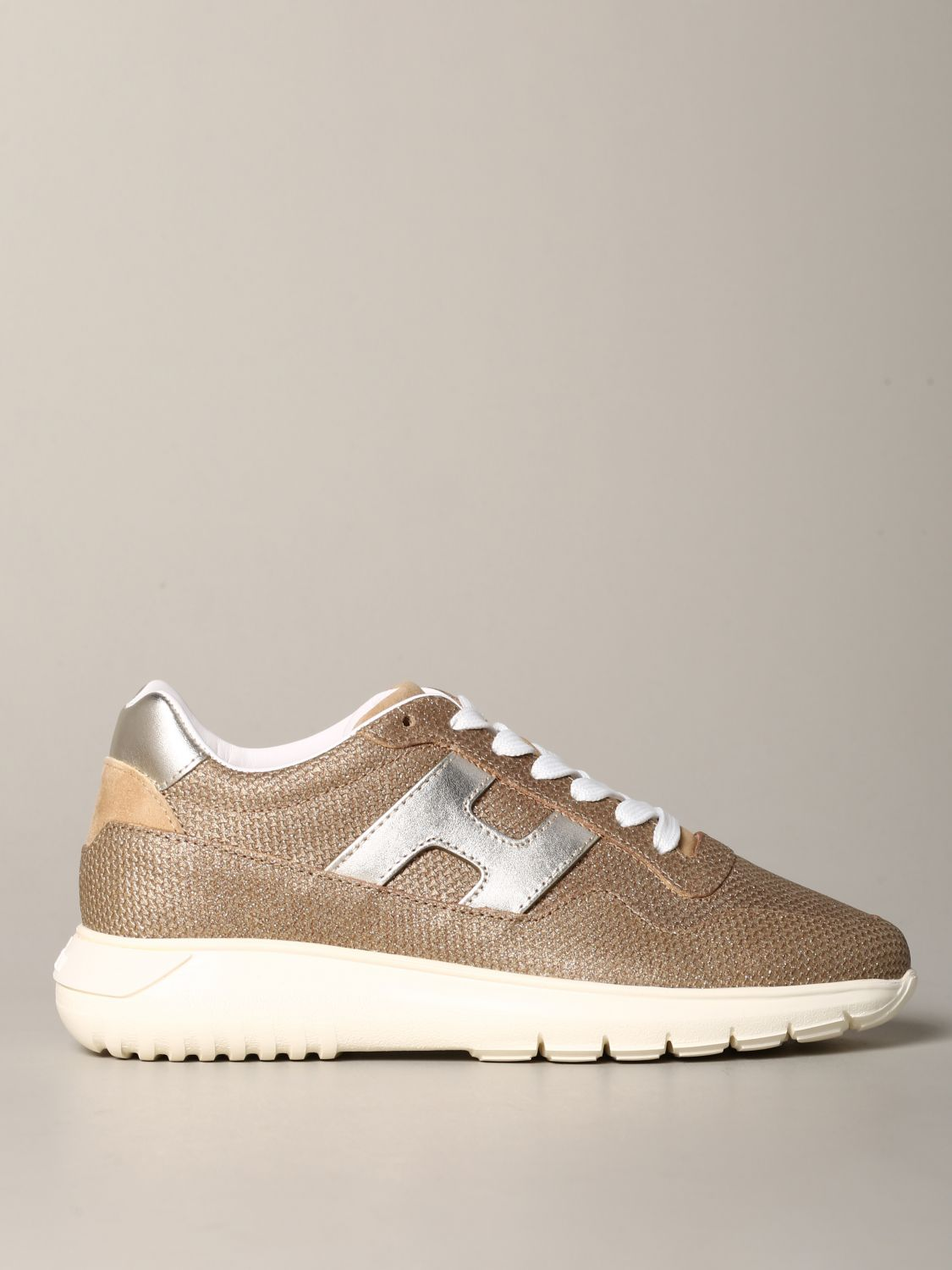 HOGAN: Interactive cube sneakers in textured leather | Sneakers ...