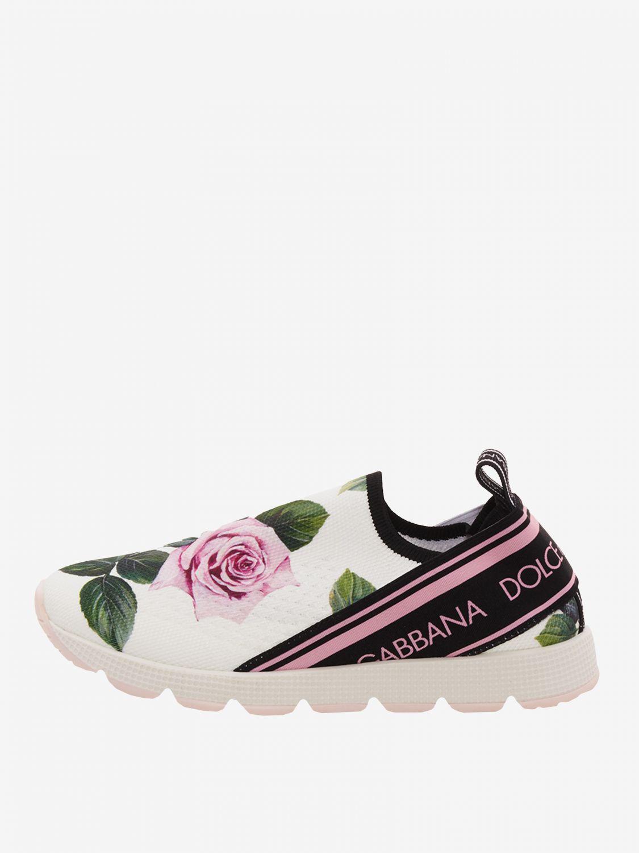 Shoes Dolce \u0026 Gabbana Kids Yellow Cream