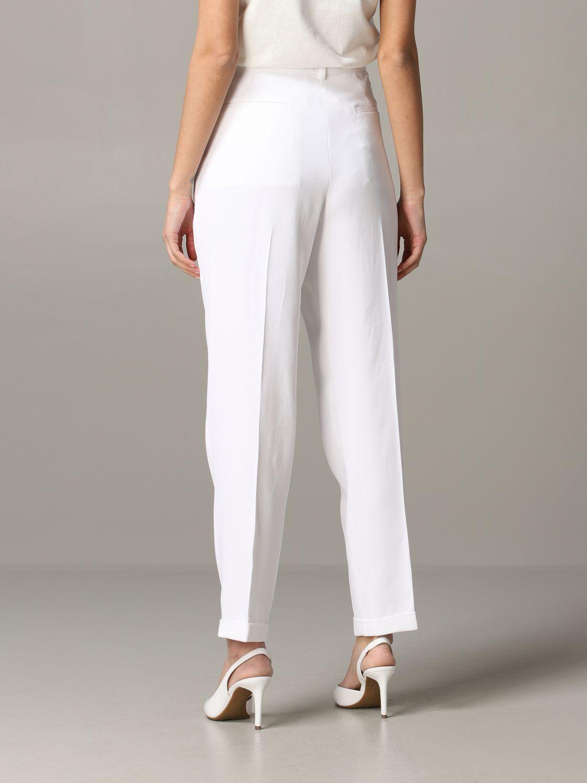 Pants women Philosophy Di Lorenzo Serafini white 3