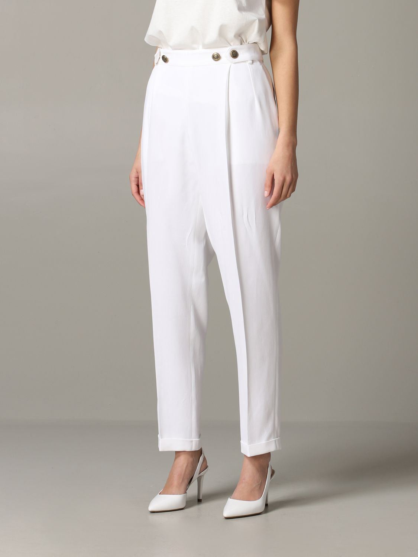 Pants women Philosophy Di Lorenzo Serafini white 4