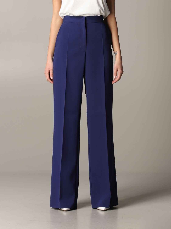 Pants women Philosophy Di Lorenzo Serafini blue 1