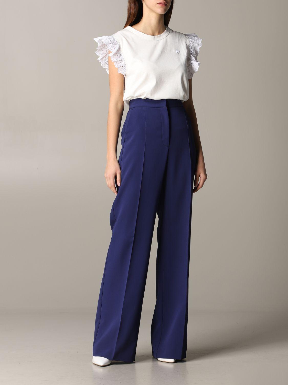 Pants women Philosophy Di Lorenzo Serafini blue 2
