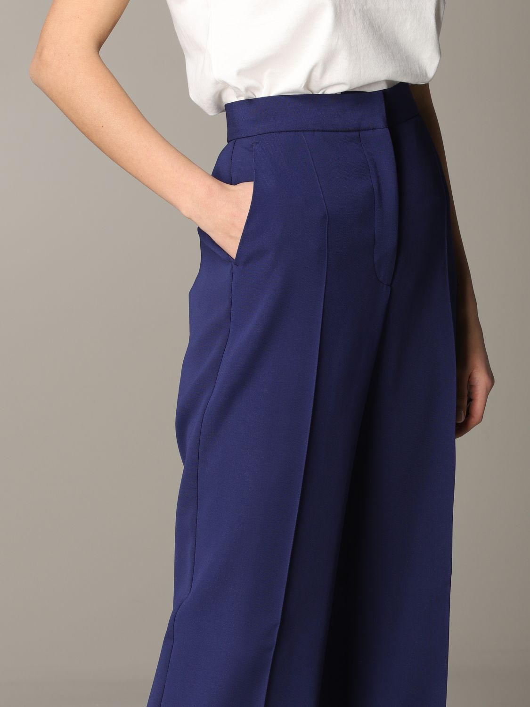 Pants women Philosophy Di Lorenzo Serafini blue 5