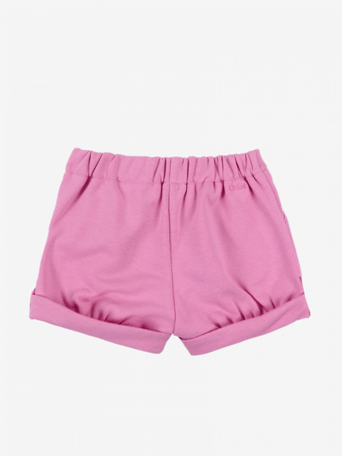 Short Chloé: Chloé basic shorts fuchsia 2