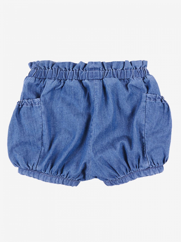 Pantaloncino Chloé: Pantaloncino a culotte Chloé con tasche blue 2