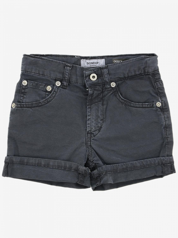 Pantaloncino Dondup: Pantaloncino Dondup a 5 tasche nero 1