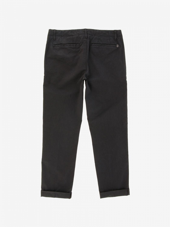 Trousers kids Dondup black 2