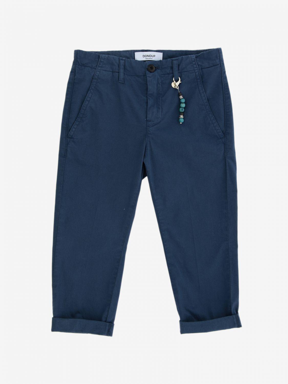 Pantalone Dondup: Pantalone Dondup casual con tasche america bianco 1