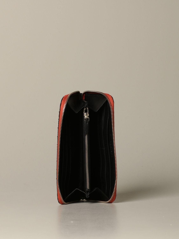 Wallet women Orciani orange 2