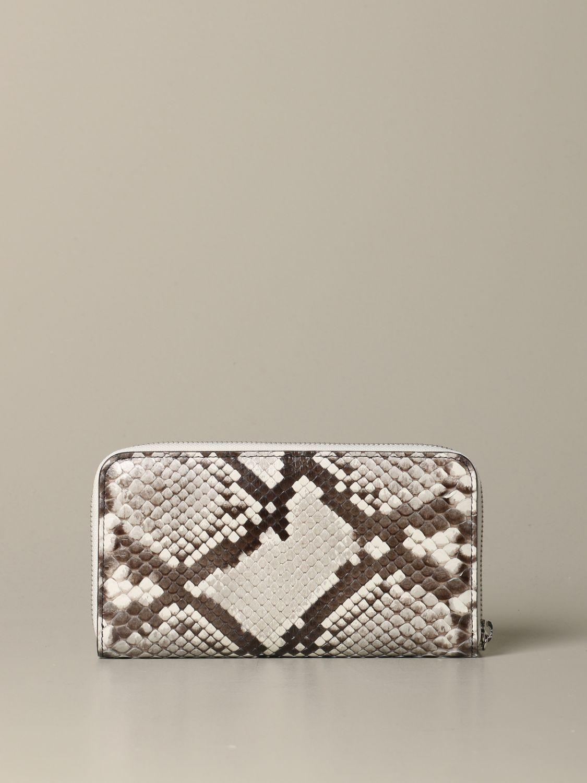 Wallet women Orciani grey 3