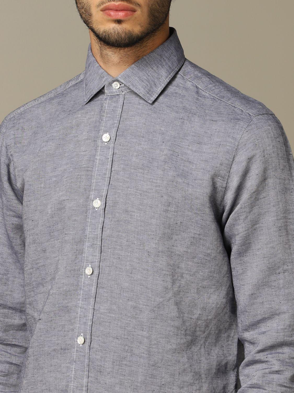 Рубашка Мужское Dandy Life серо-бежевый 3