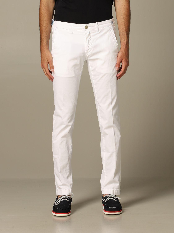 Pantalon homme Jacob Cohen blanc 1