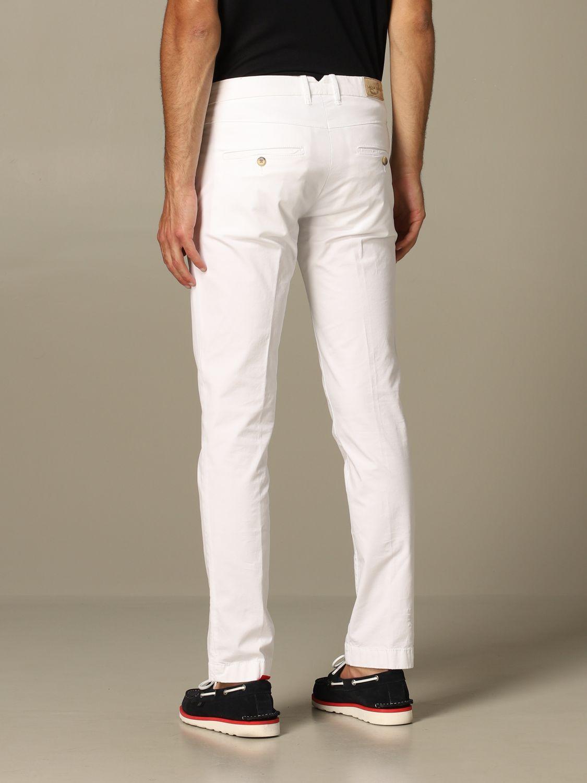 Pantalon homme Jacob Cohen blanc 2