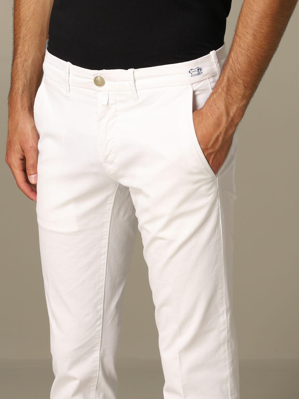 Pantalon homme Jacob Cohen blanc 3