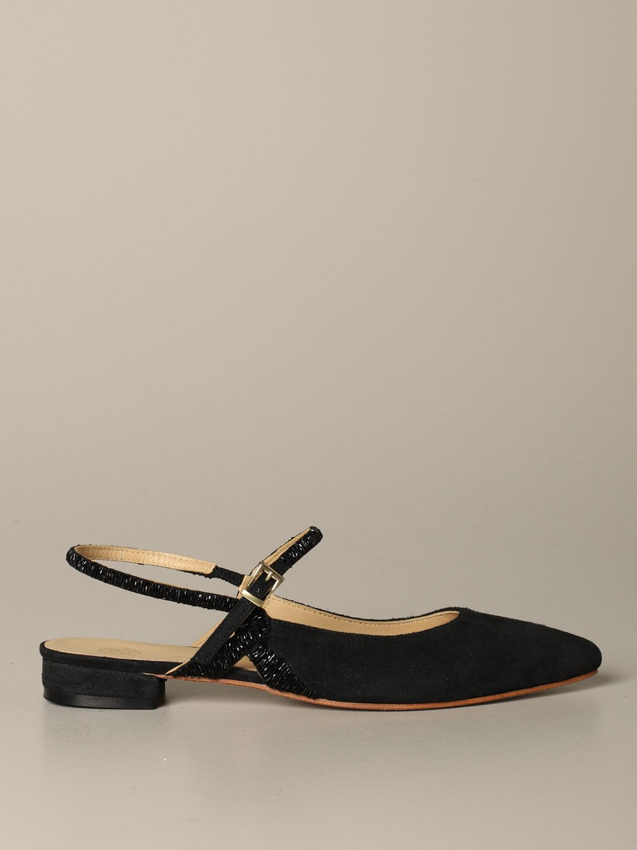 Обувь без каблука Женское Maliparmi черный 1