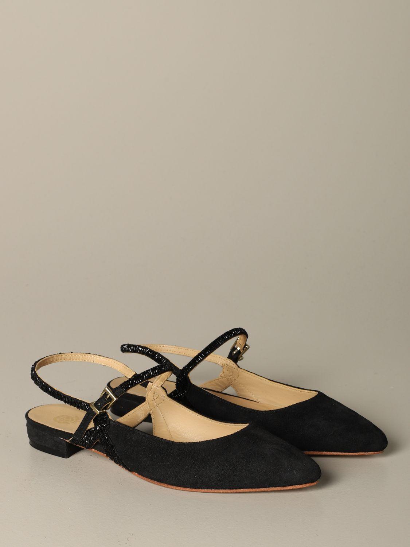 Обувь без каблука Женское Maliparmi черный 2