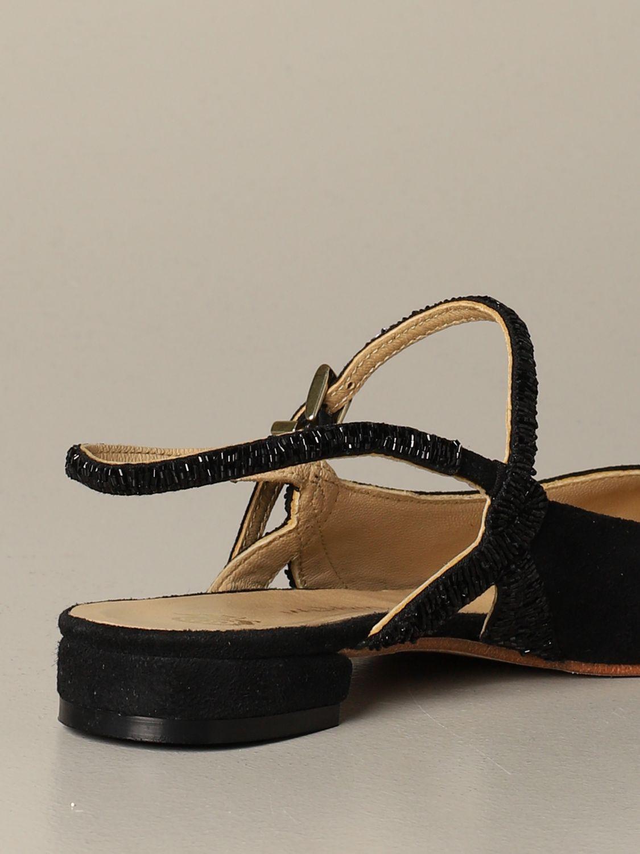 Обувь без каблука Женское Maliparmi черный 3
