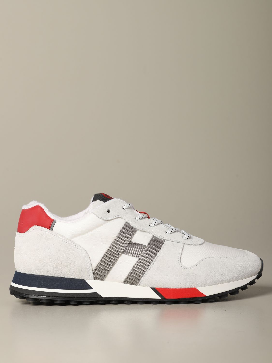 Sneakers H383 Hogan In Pelle E Camoscio Sneakers Hogan Uomo Bianco Sneakers Hogan Hxm3830an51 Nrv Giglio It
