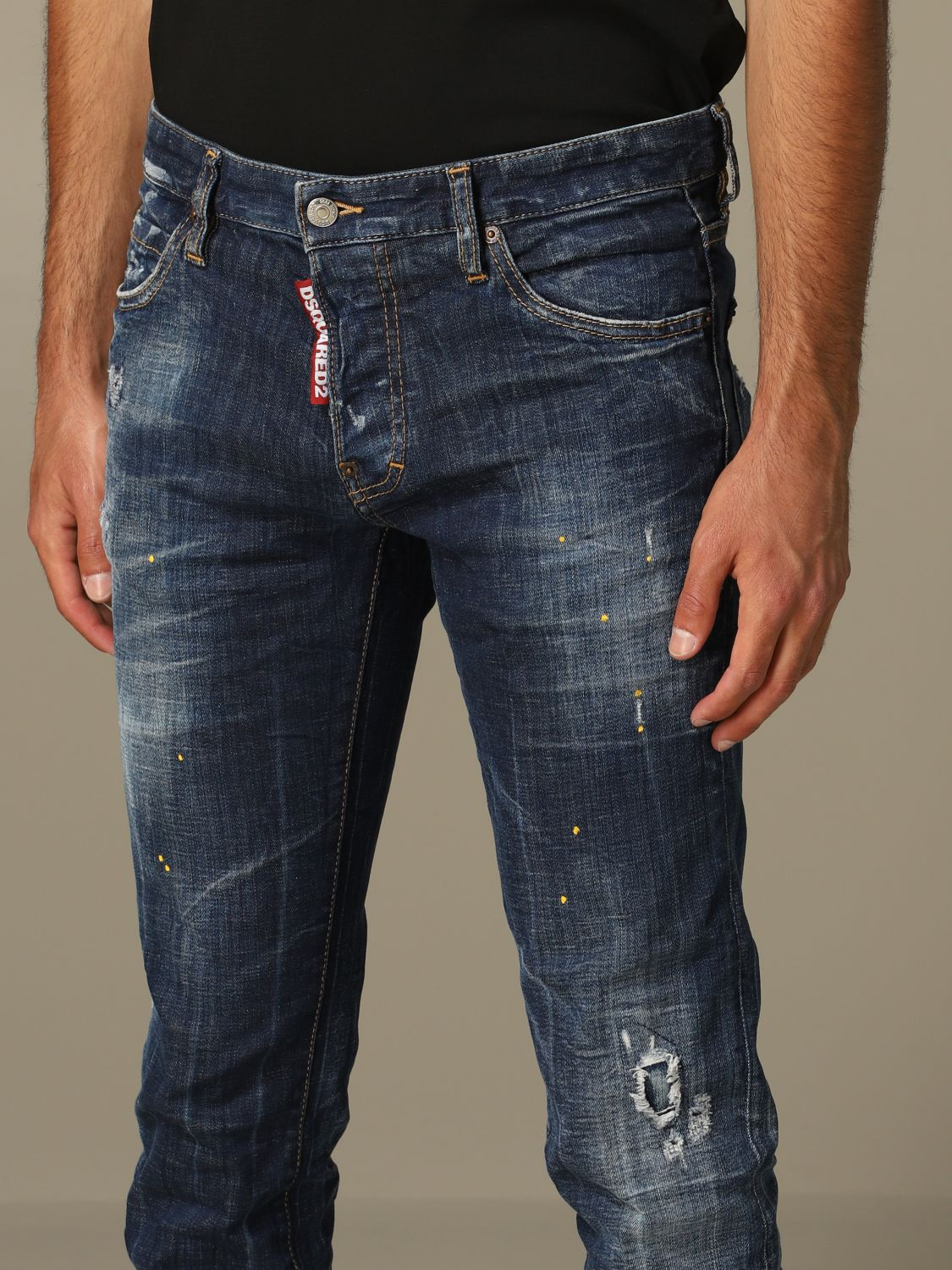 Jeans homme Dsquared2 denim 3